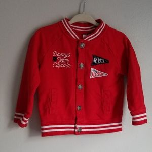 Boy's All Star Daddy's Captain Bomber Jacket